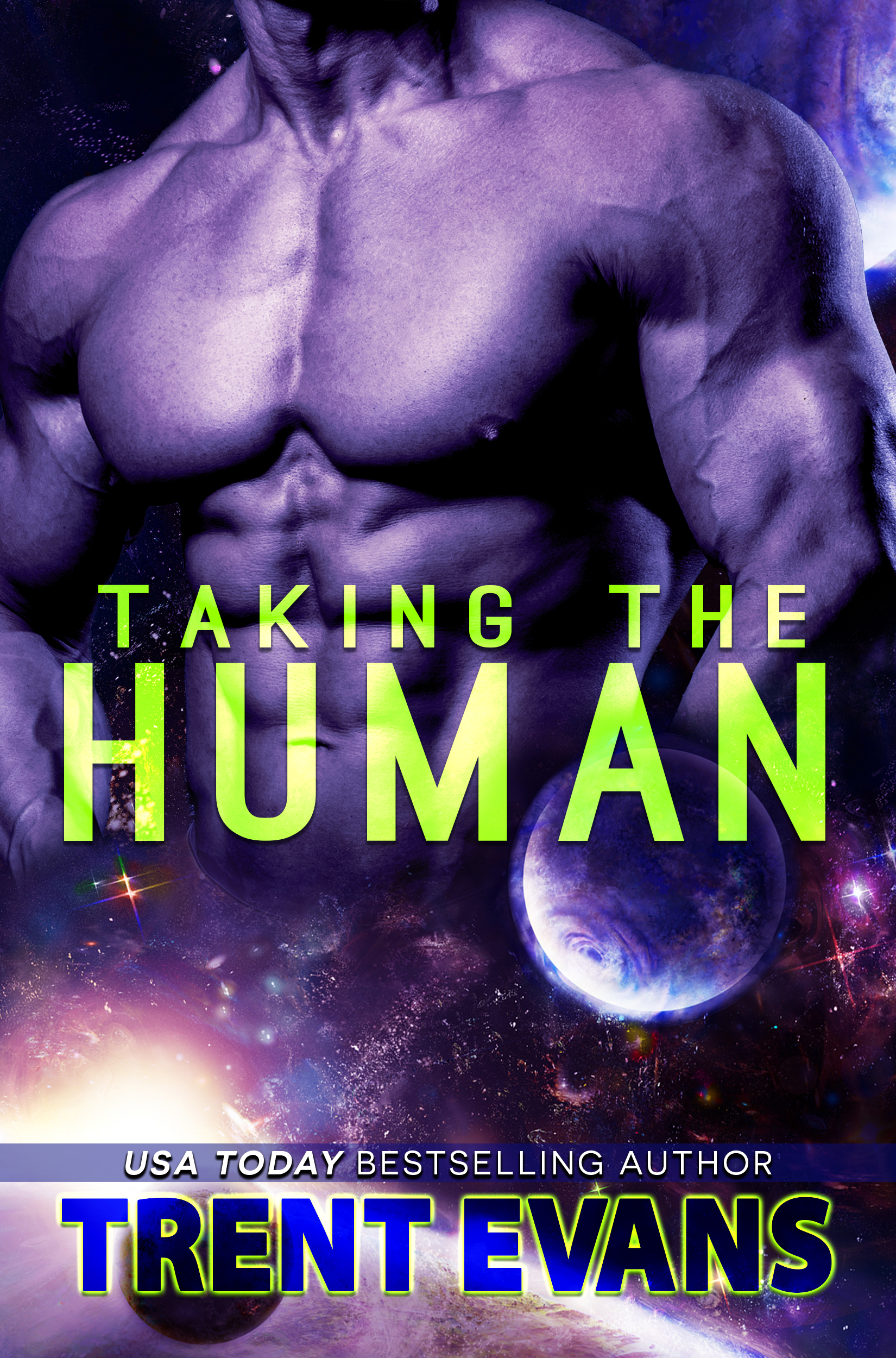 "Cover Reveal (plus an excerpt!) – ""Taking The Human"" by Trent Evans"